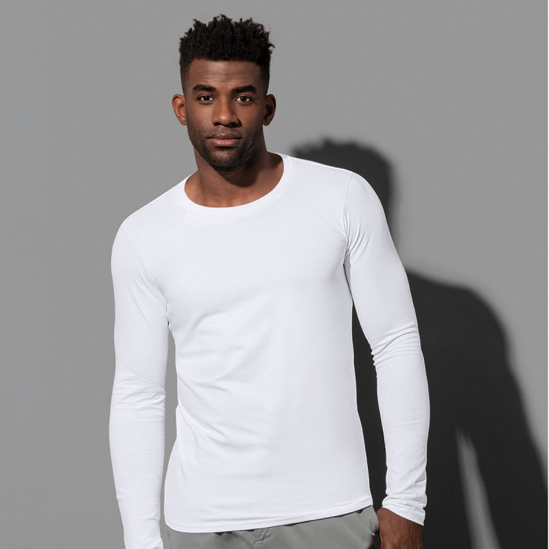 T-shirt bimbo uomo manica lunga